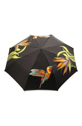 Женский складной зонт с принтом DOPPLER разноцветного цвета, арт. 34519 102/62 | Фото 1