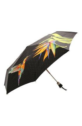 Женский складной зонт с принтом DOPPLER разноцветного цвета, арт. 34519 102/62 | Фото 2