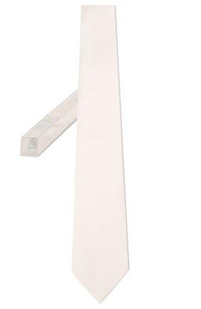 Мужской шелковый галстук BRIONI белого цвета, арт. 062I00/P446Z | Фото 2