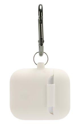 Чехол для airpods с карабином ELAGO белого цвета, арт. EAPSC-HANG-WH   Фото 2 (Статус проверки: Проверена категория)