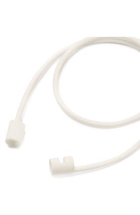 Мужской шнурок для airpods ELAGO белого цвета, арт. ESTR-AP-WH | Фото 2