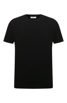 Мужская хлопковая футболка  VALENTINO черного цвета, арт. RV3MG08Y3LE | Фото 1