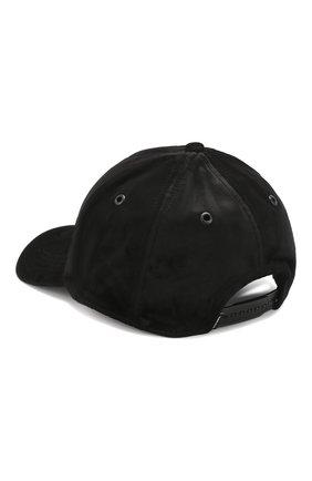 Бейсболка с логотипом бренда Diesel черного цвета | Фото №2