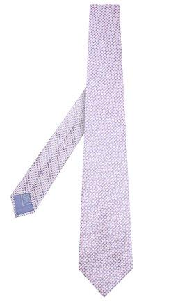 Мужской шелковый галстук BRIONI сиреневого цвета, арт. 062I00/P841P | Фото 2