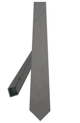 Мужской шелковый галстук BRIONI зеленого цвета, арт. 061D00/P8464 | Фото 2