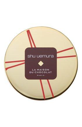 Женский пудра-хайлайтер shimmery powder, оттенок luster gold dust SHU UEMURA бесцветного цвета, арт. 4935421670128   Фото 2