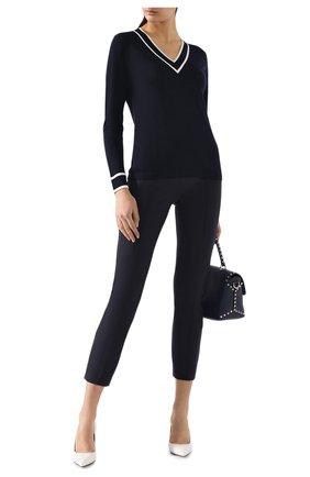 Женские брюки ESCADA темно-синего цвета, арт. 5024888 | Фото 2