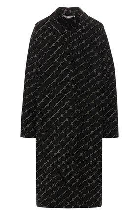 Женское шерстяное пальто STELLA MCCARTNEY черного цвета, арт. 549674/SMB11 | Фото 1