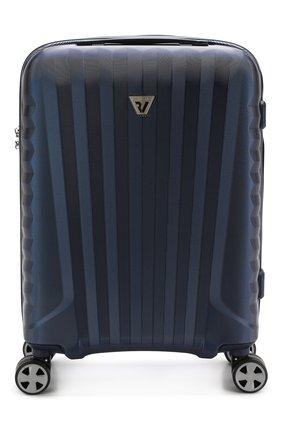 Женский дорожный чемодан uno zsl premium 2.0 RONCATO синего цвета, арт. 54630303 | Фото 1
