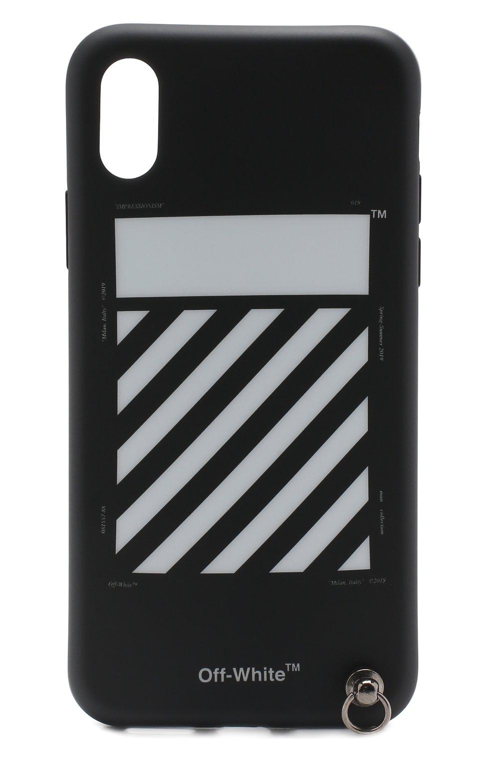 Чехол для iPhone X Off-White  | Фото №1