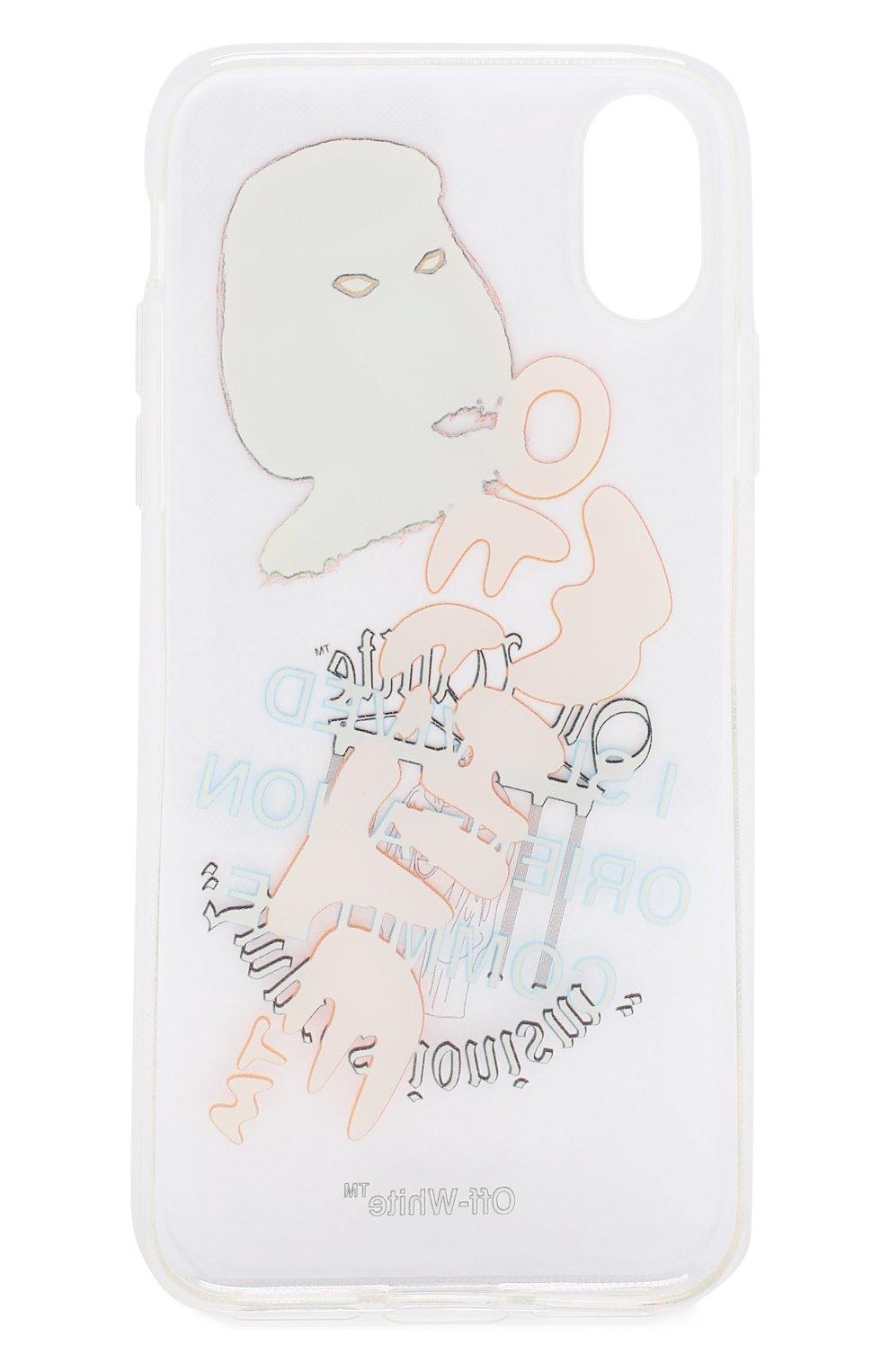 Чехол для iPhone X Off-White  | Фото №2