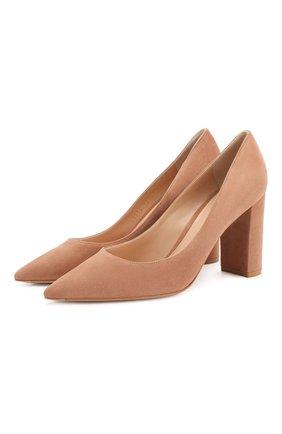 Замшевые туфли Piper 85 | Фото №1