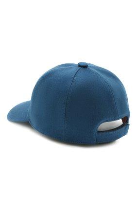 Детская кашемировая бейсболка LORO PIANA синего цвета, арт. FAF4334 | Фото 2