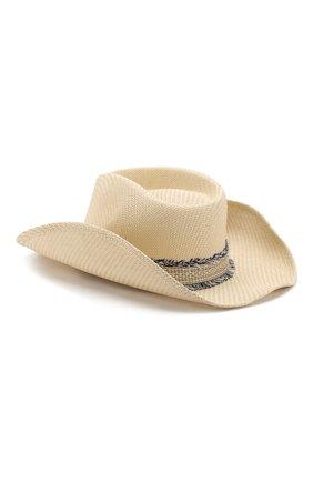 Соломенная шляпа с лентой   Фото №2