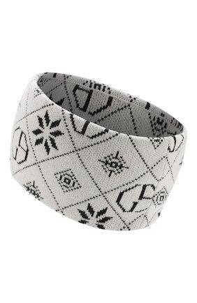 Женская повязка на голову GIORGIO ARMANI белого цвета, арт. 797399/9P200 | Фото 2