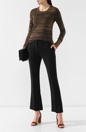 Женская шерстяной пуловер BOTTEGA VENETA хаки цвета, арт. 542652/VEYR0 | Фото 2
