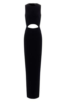 Платье-макси из вискозы | Фото №1