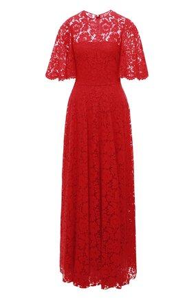 Кружевное платье-макси | Фото №1