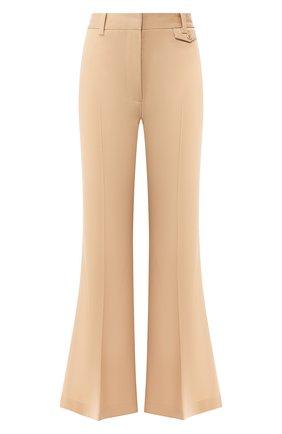 Расклешенные брюки из шерсти | Фото №1