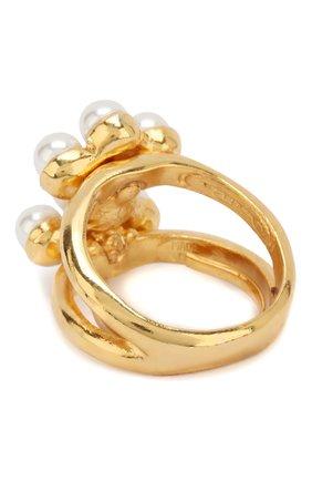 Кольцо с жемчужинами | Фото №2