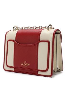 Сумка Valentino Garavani Uptown Valentino красная цвета | Фото №3