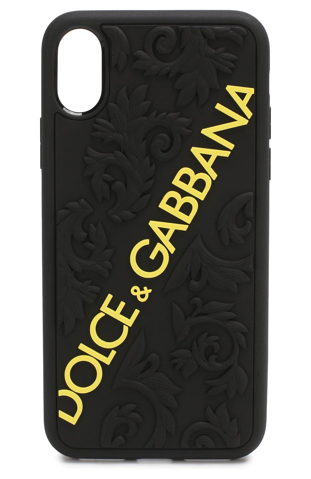 Чехол для iPhone X с логотипом бренда   Фото №1