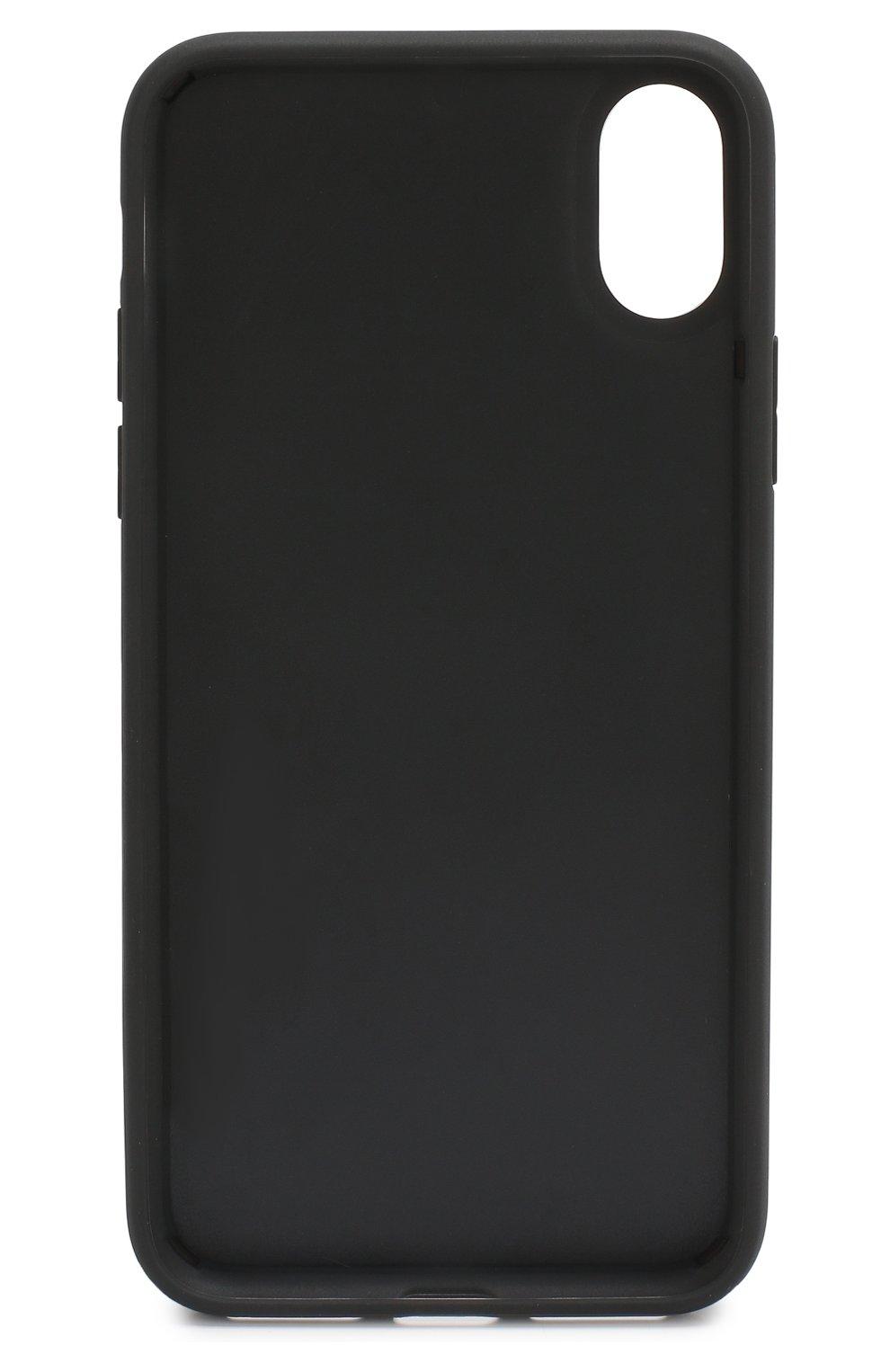 Чехол для iPhone X с логотипом бренда   Фото №2
