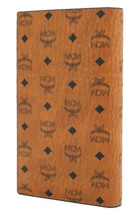 Женские обложка для паспорта с футляром на молнии MCM коричневого цвета, арт. MYV 8SVI50 | Фото 2