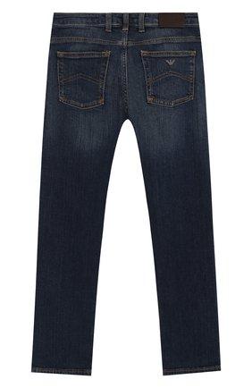 Детские джинсы EMPORIO ARMANI синего цвета, арт. 8N4J45/1V0MZ | Фото 2