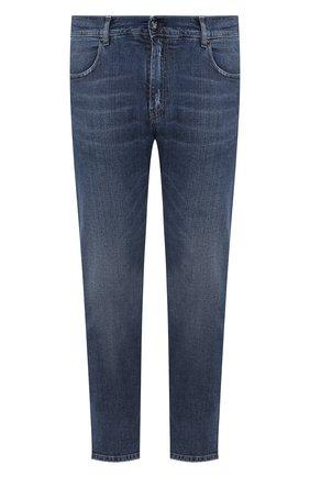 Мужские джинсы прямого кроя ANDREA CAMPAGNA синего цвета, арт. ACB0803333 | Фото 1