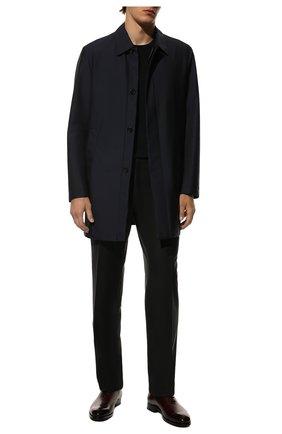 Мужские кожаные оксфорды BRIONI бордового цвета, арт. QEDT0L/P6757 | Фото 2