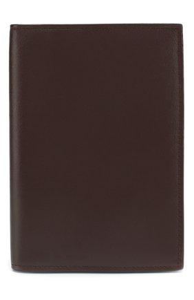 Мужская кожаная обложка для паспорта BRIONI бордового цвета, арт. 0HQS0L/07710 | Фото 1