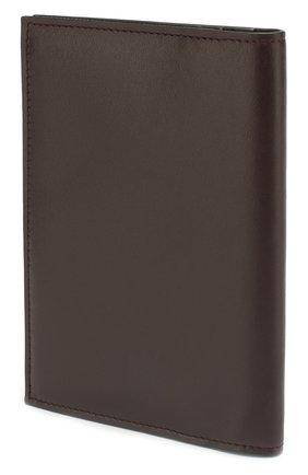 Мужская кожаная обложка для паспорта BRIONI бордового цвета, арт. 0HQS0L/07710 | Фото 2