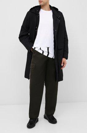 Мужские кожаные кеды valentino garavani vltn VALENTINO черного цвета, арт. RY2S0830/XZU | Фото 2