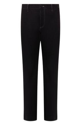 Мужские джинсы прямого кроя BOTTEGA VENETA темно-синего цвета, арт. 545511/VEXT0 | Фото 1