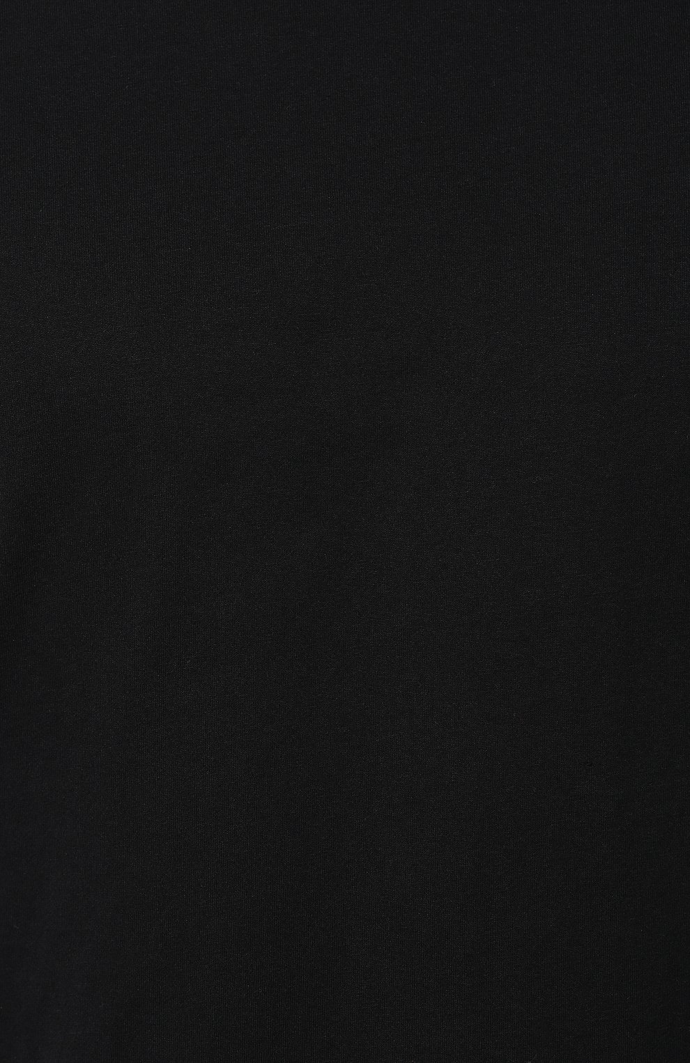 Хлопковая футболка  Diesel черная | Фото №5