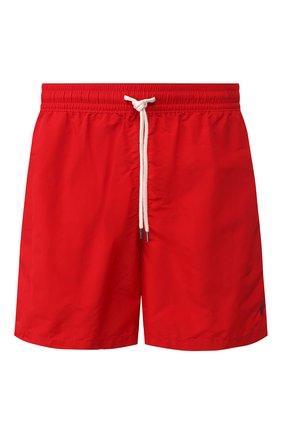 Детского плавки-шорты POLO RALPH LAUREN красного цвета, арт. 710659017 | Фото 1