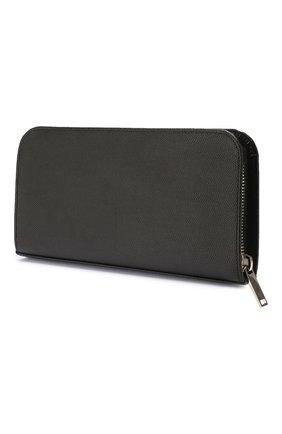 Мужской кожаное портмоне SAINT LAURENT черного цвета, арт. 534290/BTY0N | Фото 2