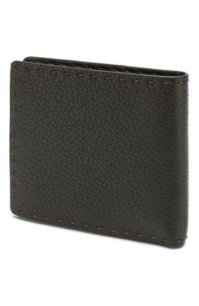 Мужской кожаное портмоне  KITON коричневого цвета, арт. UPVENEN00739 | Фото 2