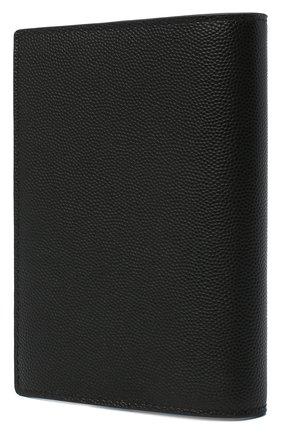 Мужской кожаная обложка для паспорта DOLCE & GABBANA черного цвета, арт. BP2215/AZ601 | Фото 2