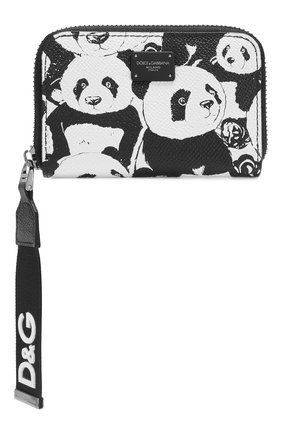 Кожаное портмоне DG Panda | Фото №1