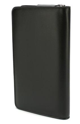 Мужская кожаный футляр для документов BRIONI черного цвета, арт. 0HQL0L/07710 | Фото 2