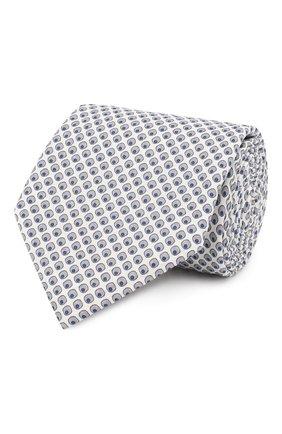 Мужской комплект из галстука и платка BRIONI белого цвета, арт. 08A900/P841M | Фото 1