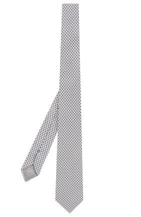 Мужской комплект из галстука и платка BRIONI белого цвета, арт. 08A900/P841M | Фото 2