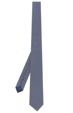 Мужской комплект из галстука и платка BRIONI синего цвета, арт. 08A900/P841M   Фото 2