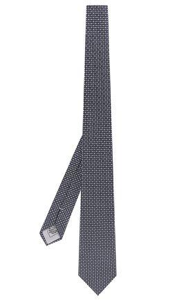 Мужской комплект из галстука и платка BRIONI синего цвета, арт. 08A900/P841K   Фото 2