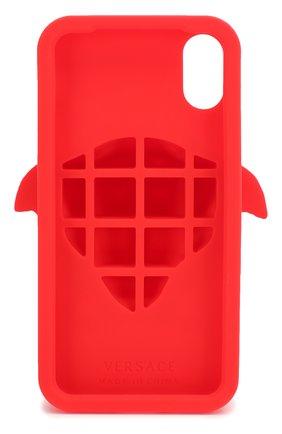 Мужской чехол для iphone x VERSACE красного цвета, арт. DPY7314M/DPCME | Фото 2