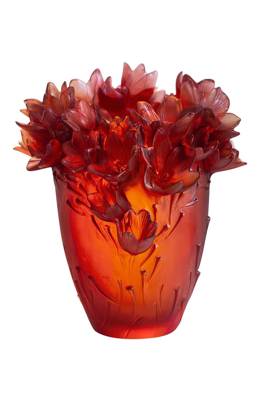 Мужского ваза safran large DAUM красного цвета, арт. 05604 | Фото 2