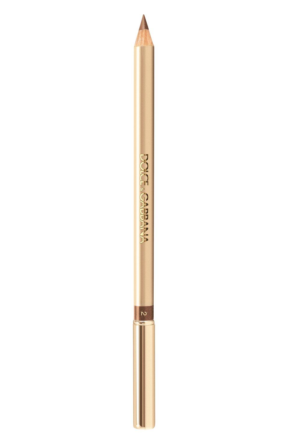 Женский карандаш для глаз, оттенок 2 coffee DOLCE & GABBANA бесцветного цвета, арт. 3024435DG | Фото 1