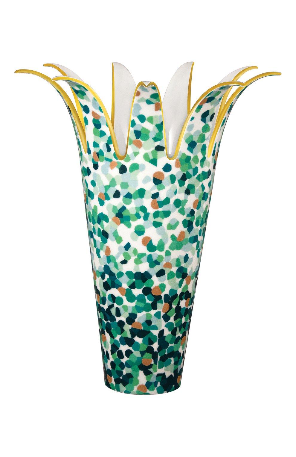 Мужского ваза marmorino BERNARDAUD зеленого цвета, арт. 2320/21851   Фото 1